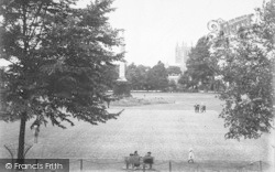 Hereford, Castle Green c.1910