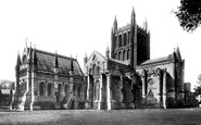 Hereford, Cathedral 1891