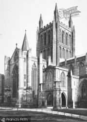 Hereford, Cathedral c.1869