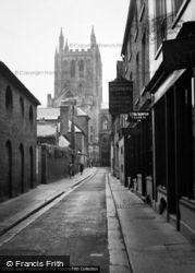 Hereford, Cathedral From Street 1948