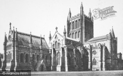Hereford, Cathedral, North East c.1869