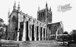 Cathedral, South West 1891, Hereford