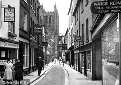 Church Street c.1950, Hereford