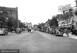 Commercial Road c.1950, Hereford