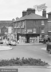Hereford, Commercial Road c.1960