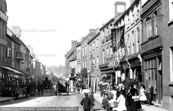 Hereford, Commercial Street 1891