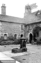 Coningsby Hospital Courtyard c.1960, Hereford