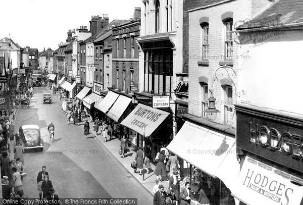 Hereford, Eign Gate c1950
