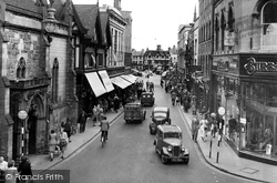 High Street c.1950, Hereford