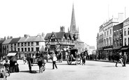 Hereford, High Town 1891