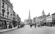 Hereford, High Town 1925