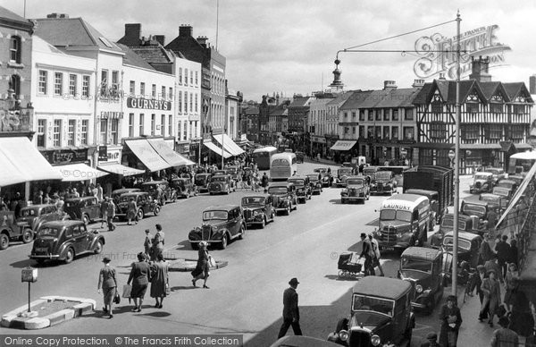 Hereford, High Town 1949