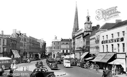 High Town c.1950, Hereford