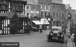 Hereford, High Town, Shops 1925