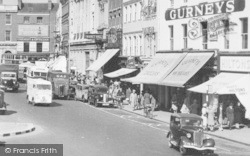 Hereford, High Town, Shops c.1950
