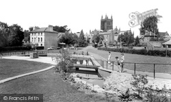 Redcliffe Gardens c.1965, Hereford