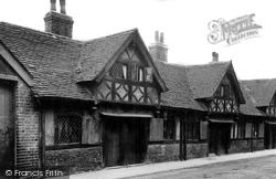 St Aubrey's Charity Houses, Berrington Street c.1960, Hereford