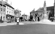 Hereford, St Peter's Square c1950