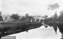 Hereford, The Bend Of The River c.1935
