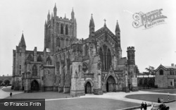 Hereford, The Cathedral c.1960