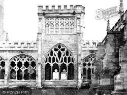 Hereford, The Cathedral, Ladies' Arbour c.1862