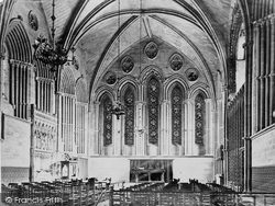 Hereford, The Cathedral, Lady Chapel c.1863