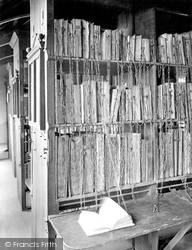 The Cathedral, The Chained Library 1925, Hereford