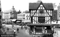 The Old House And High Town c.1950, Hereford