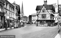 The Old House From St Peter's Street 1938, Hereford