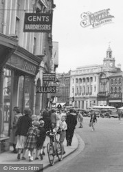 Hereford, The Square c.1960