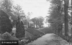 Hereford, The Walks, Castle Green c.1935