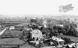 View From The Broomy Hill Water Tower 1891, Hereford