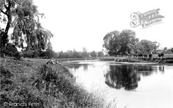 View On The Wye 1892, Hereford