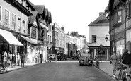 Hereford, Widemarsh Street c1950