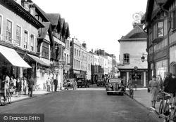 Widemarsh Street c.1950, Hereford