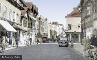 Hereford, Widemarsh Street c1950
