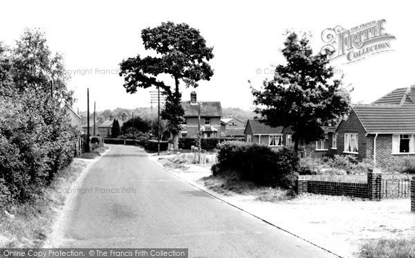 Hermitage, Little Hungerford c1955