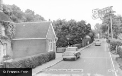 Hermitage, Post Office And Hermitage Road c.1960