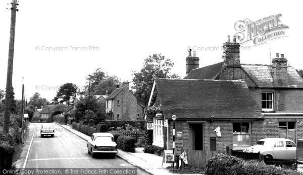 Hermitage, Post Office and Hermitage Road c1955