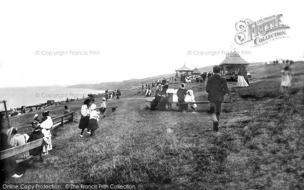 Photo of Herne Bay, East Cliff 1897