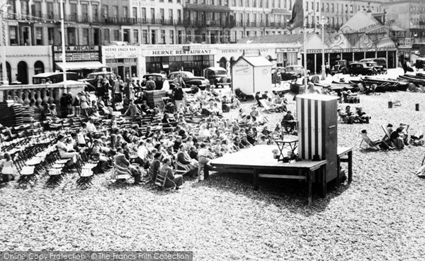 Photo of Herne Bay, The Punch And Judy Show c.1955