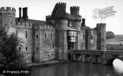 Herstmonceux, Castle 1952