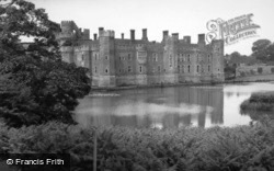 Herstmonceux, Castle And Moat 1952