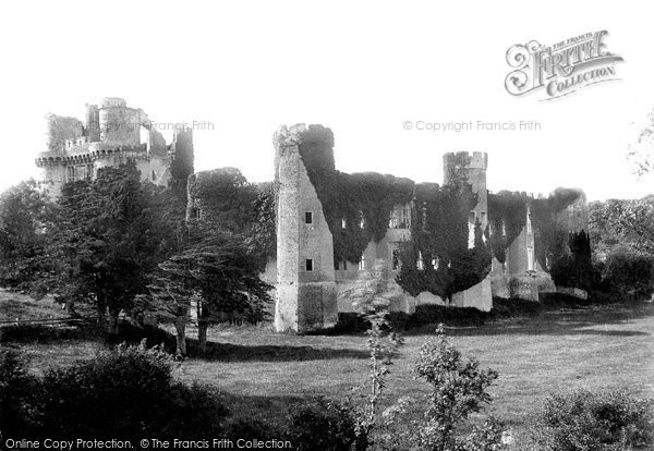 Photo of Herstmonceux, Castle, South West 1890