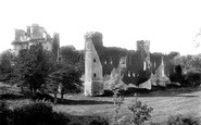 Herstmonceux, Castle, south west 1890