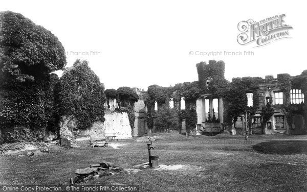 Photo of Herstmonceux, Castle, The Inner Courtyard 1890