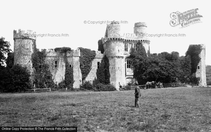 Photo of Herstmonceux, Castle, West Front 1890