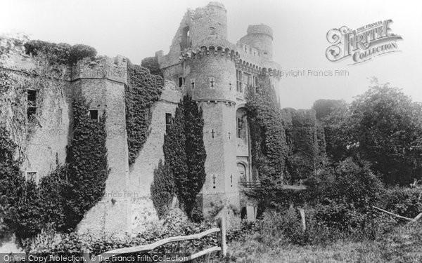Herstmonceux, Castle, west front 1890
