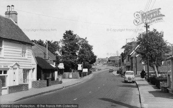 Photo of Herstmonceux, Gardner Street c.1965