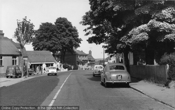 Photo of Herstmonceux, Hailsham Road c.1965